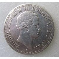 Пруссия. 1 талер 1829. Серебро   V.0