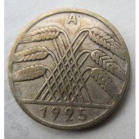 Германия. 10 рентенпфеннигов 1925 A .89