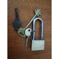 Замок, ключи для поделок.