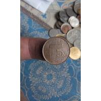 345# 5 центов 1990. нидерланды