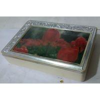 Шкатулка, коробка для бижутерии, разной мелочи,СССР