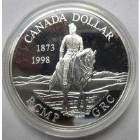 Канада, доллар, 1998, серебро, пруф