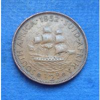 Южная Африка Британский доминион 1/2 пенни 1952 Георг VI