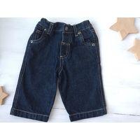 Джинсы Next брюки для малыша фирменные 3-6-9 мес 62-68-74