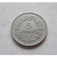 Франция 5 франков 1946 Четвертая Республика