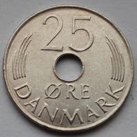 Дания, 25 эре 1984 г