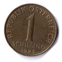 Австрия. 1 шиллинг. 1993 г.