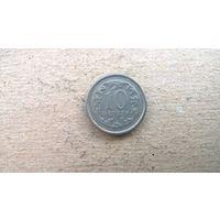 Польша 10 грошей, 1999г.