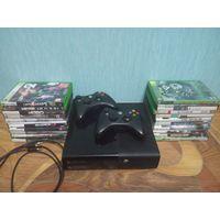Консоль Xbox 360 (LT.3.0)+ 2 геймпада и 22 диска