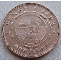 "ЮАР. ""Трансвааль"" 1 пенни 1898 год  КМ#2"