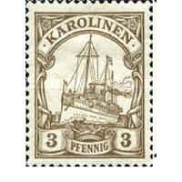 Германские Каролинские Острова 1901 флот Яхта Гогенцоллерн 7 MH