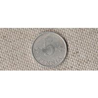 Финляндия 5 пенни 1987(Oct)