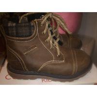 Новые ботинки Coolclub размер 27(стелька 18) Кожа