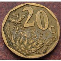 5629:  20 центов 2004 ЮАР