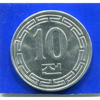 Северная Корея 10 чон 1959 UNC