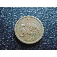 Южная Африка 5 центов 1995 г.