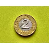 Польша. 2 злотых 1995. (1).