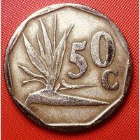 29-06 ЮАР, 50 центов 1992 г.