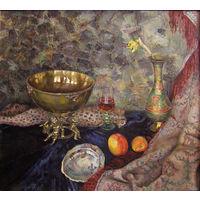 Натюрморт с золотой чашей
