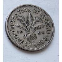Нигерия 1 шиллинг, 1959 3-11-26
