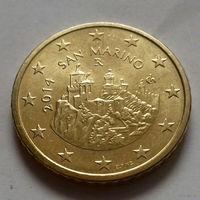 50 евроцентов, Сан-Марино 2014 г., AU
