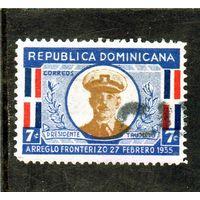 Доминиканская республика.Ми-301.Генерал Рафаэль Леонидас Трухильо Молина (1891-1961), президент.1935.