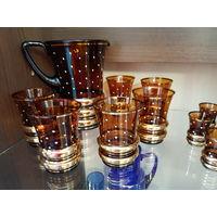 Графин и 6 стаканов , Bohemia