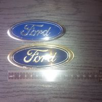 Две эмблемы Ford (логотип)