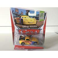 Машинка Тачки Джефф Горвет Disney Pixar Cars Jeff Gorvette WGP Series