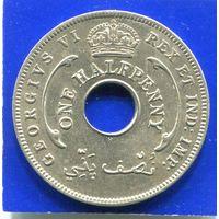 Британская Западная Африка 1/2 пенни 1937 Н