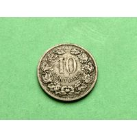 10 сантимов 1901 года