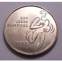 """Португалия, 200 эскудо 1992 год, """"25-е Олимпийские игры"""""""