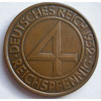 4 пфеннига 1932