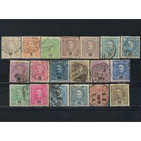 Португалия Кор 1895-8 Карл I Стандарт #124А-136А,146-149,151-152