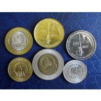 Ангола. 6 монет 2012-2015 г.