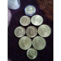 Набор монет царских