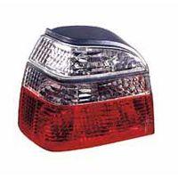 Задние фонари VW GOLF III 1992-1997 LH+RH диод хруст. бело-красн. тюнинг DEPO 441-1986PXUEVCR торг