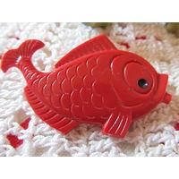 Значок Рыбка СССР