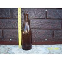 Бутылка пивная польская до 1939 года,подписная