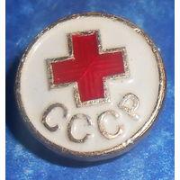 Знак на женский головной убор сандружинника СССР