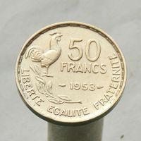 Франция 50 франков 1953
