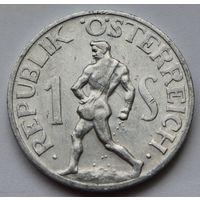 Австрия 1 шиллинг, 1957 г.