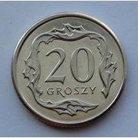 Польша 20 грошей. 2014