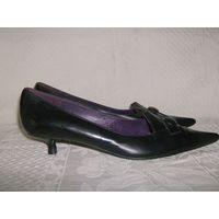 Кожаные туфли Испания. Качество !!! на 41 р. Винтаж.