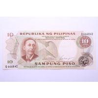 Филиппины, 10 писо 1978 год.