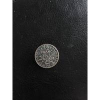 1/2 франка 1996 Франция