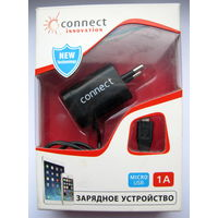 СЗУ Connect Innovation miniUSB, 1000mA чёрный