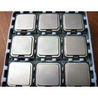 Процессоры Intel Core(TM) 2 Duo и P4 в ассортименте (30 шт.)