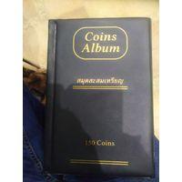 Альбом для монет. 150 ячеяк.
