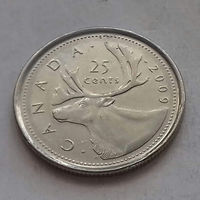 25 центов, Канада 2009 г., AU